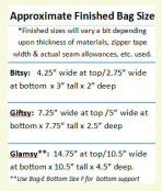 Download ONLY - StandZa Zip Bags sewing pattern from Sew TracyLee Designs 2