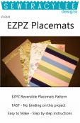 Download - EZPZ Fast and Fab Placemats sewing pattern from Sew TracyLee Designs