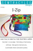 Print - I-Zip Wallets sewing pattern from Sew TracyLee Designs