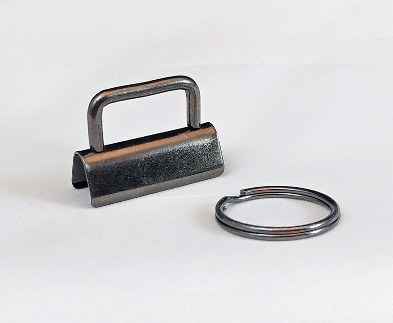 Key-Fob-Hardware-1-Pack-GunMetal-Sew-TracyLee-Desgins