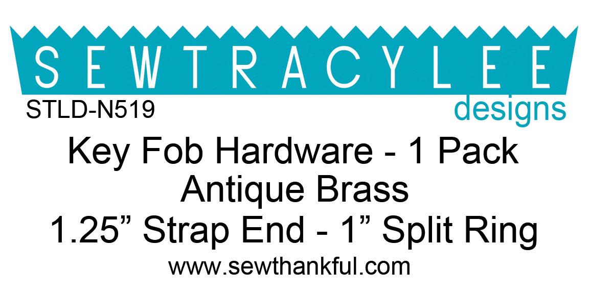 STLD-N519-Key-Fob-Hardware-Antique-Brass-1-Pack-Label