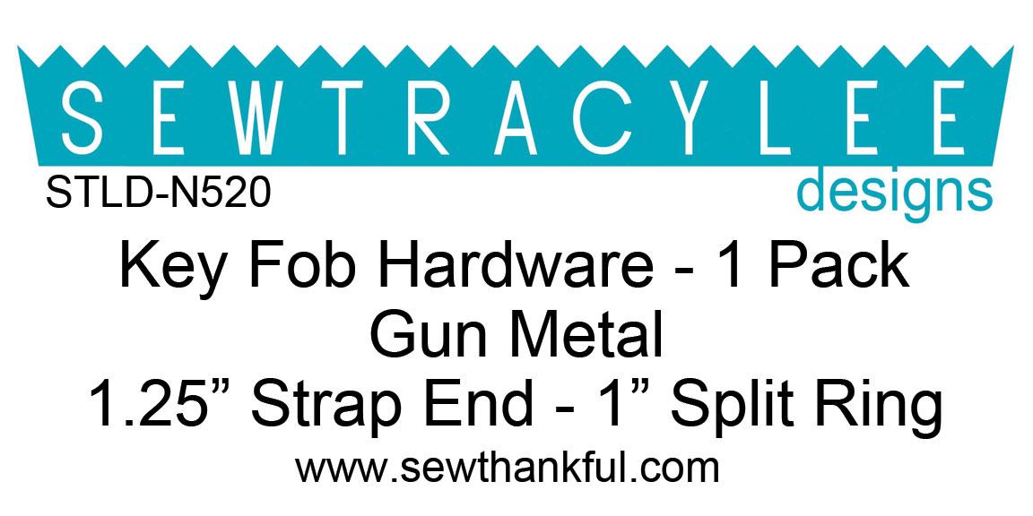 STLD-N520-Key-Fob-Hardware-Gun-Metal-1-Pack-Label