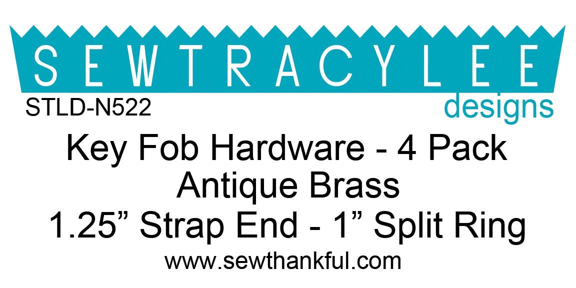 STLD-N522-Key-Fob-Hardware-Antique-Brass-4-Pack-Label