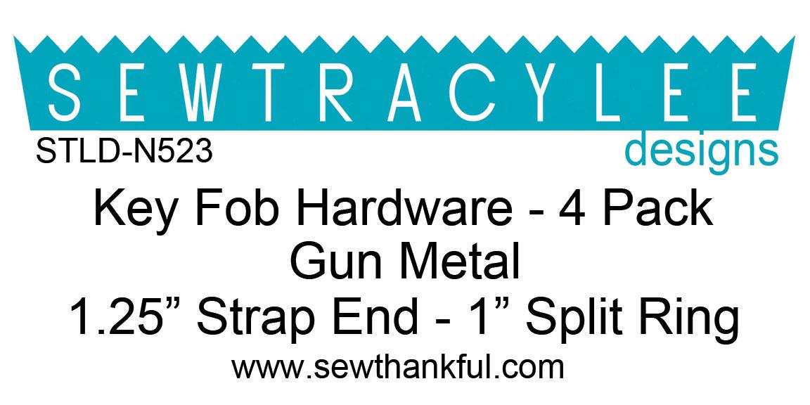 STLD-N523-Key-Fob-Hardware-Gun-Metal-4-Pack-Label