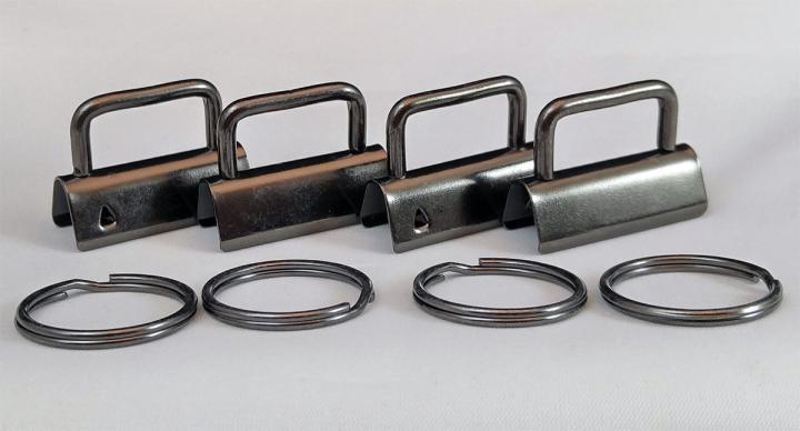 Key-Fob-Hardware-4-Pack-GunMetal-Sew-TracyLee-Desgins