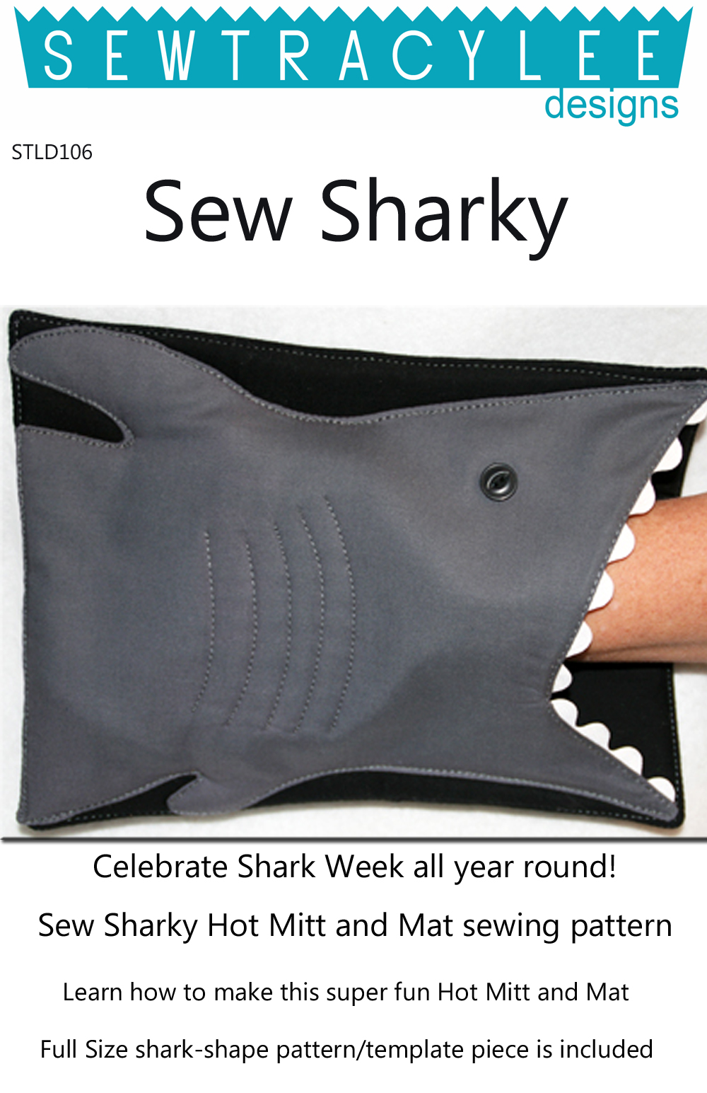 Sew-Sharky-sewing-pattern-Sew-TracyLee-Designs-front