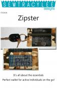 Print - Zipster Vinyl Mesh Wallet sewing pattern from Sew TracyLee Designs