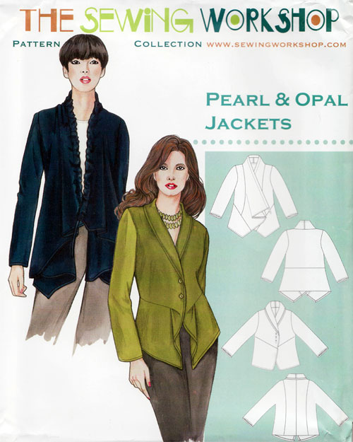 Pearl Opal Jacket Sewing Pattern From The Sewing Workshop
