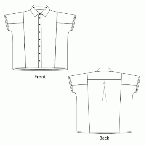 Siena Cortona Shirts Sewing Pattern From The Sewing Workshop