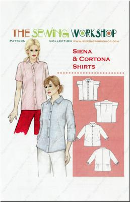 Siena & Cortona Shirts sewing pattern from The Sewing Workshop