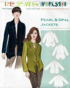 CLOSEOUT...Pearl & Opal Jacket  sewing pattern from The Sewing Workshop