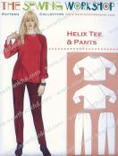 CLOSEOUT...Helix Tee & Pants sewing pattern from The Sewing Workshop