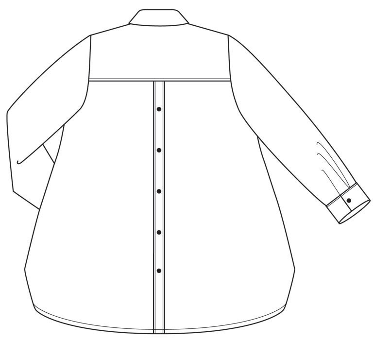 Florence Shirt Sewing Pattern From The Sewing Workshop