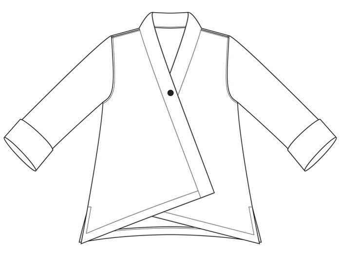 Tremont Jacket sewing pattern from The Sewing Workshop