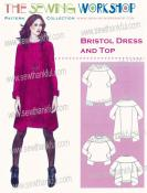 CLOSEOUT...Bristol Dress & Top sewing pattern from The Sewing Workshop