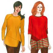 Odette & Ivy Tops sewing pattern from The Sewing Workshop 3