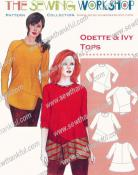 Odette & Ivy Tops sewing pattern from The Sewing Workshop