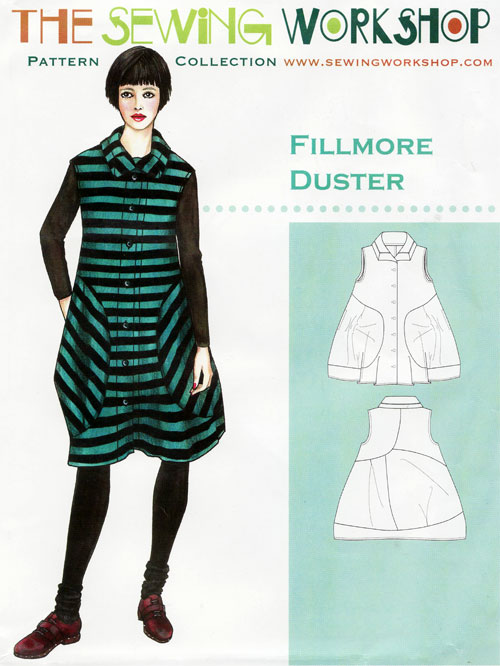 Fillmore Duster Sewing Pattern From The Sewing Workshop