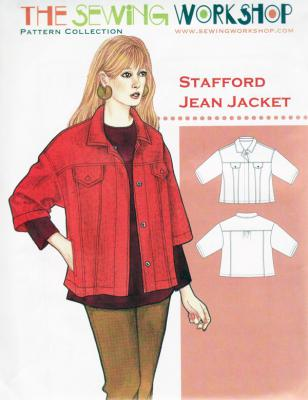 Stafford Jean Jacket sewing pattern from The Sewing Workshop