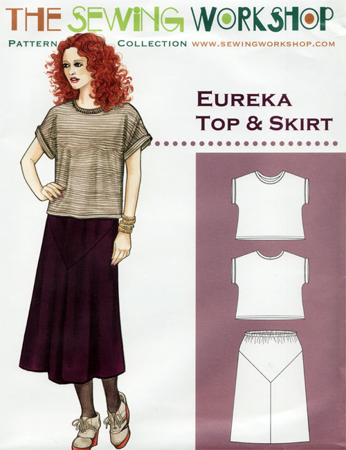 Eureka Top Skirt Pattern From The Sewing Workshop