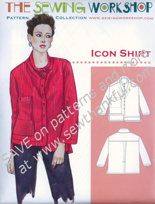 Icon Shirt Sewing Worshop sewing pattern Shirt Sewing Patterns