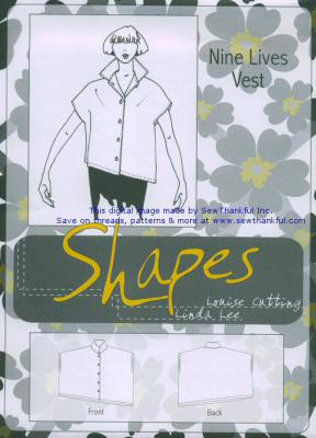 Nine Lives sewing pattern from the Shapes Collection