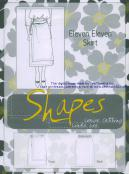 CLOSEOUT...Eleven Eleven Skirt sewing pattern from the Shapes collection