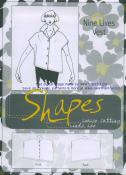 CLOSEOUT...Nine Lives sewing pattern from the Shapes Collection