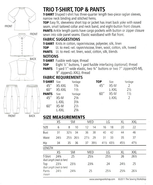 Trio-T-Shirt-Top-and-Pants-sewing-pattern-The-Sewing-Workshop-back