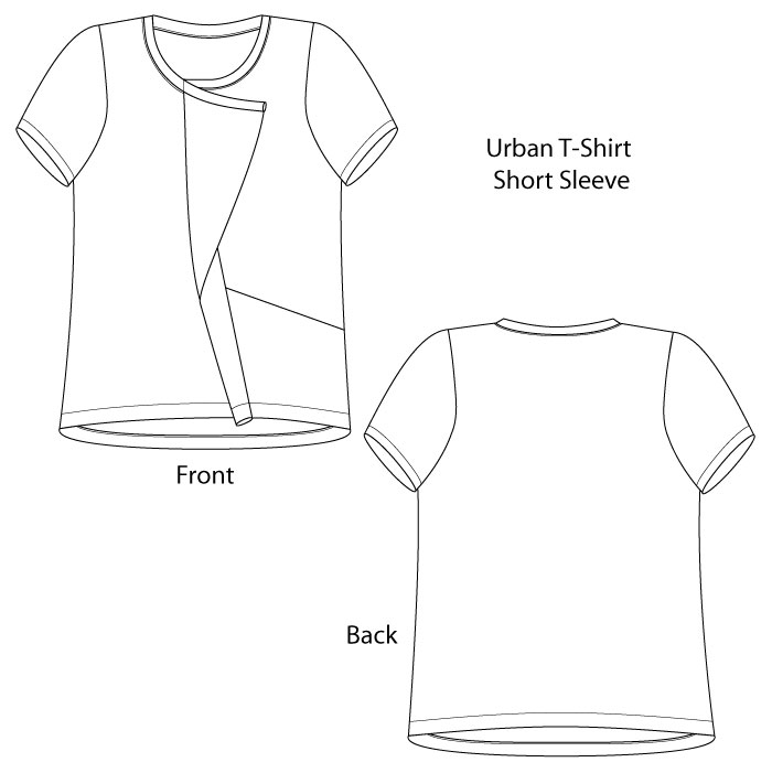 Urban T Shirt Pants Pattern From The Sewing Workshop