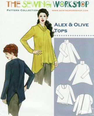 Alex & Olive Tops Pattern from The Sewing Workshop