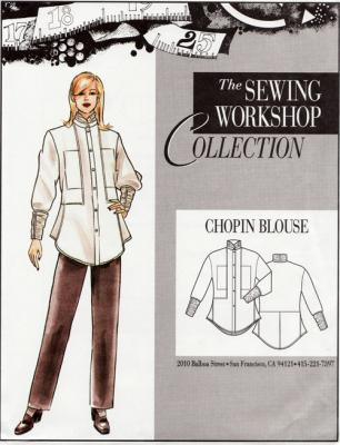 Chopin Blouse Pattern from The Sewing Workshop