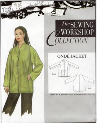 Onde Jacket Pattern from The Sewing Workshop