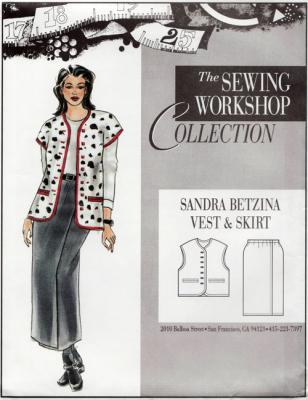 Sandra Betzina Vest & Skirt Pattern from The Sewing Workshop