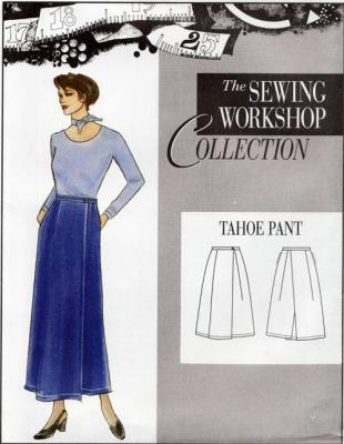 CLOSEOUT...Tahoe Pant Pattern from The Sewing Workshop