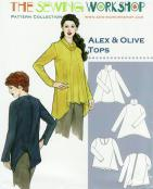 CLOSEOUT...Alex & Olive Tops Pattern from The Sewing Workshop