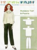 Hudson Top & Pant  from The Sewing Workshop
