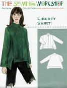 Liberty Shirt Pattern from The Sewing Workshop