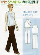 Mimosa Top and Pant Pattern from The Sewing Workshop