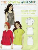 MixIt Shirt, Top & Tank Pattern from The Sewing Workshop