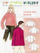 Now-and-Zen-Shirts-sewing-pattern-The-Sewing-Workshop-front