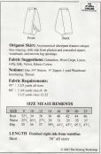 INVENTORY REDUCTION -- Origami Skirt Pattern from The Sewing Workshop 2
