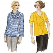 Stella & Luna Tops sewing pattern from The Sewing Workshop 3