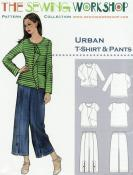 Urban T-Shirt & Pants Pattern from The Sewing Workshop