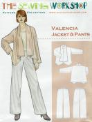 Valencia Jacket & Pant Pattern from The Sewing Workshop