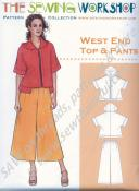 West End Top and Pants Pattern from The Sewing Workshop