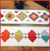 Five Star Review and Leftovers Table Runner sewing pattern from Sewn Wyoming 2