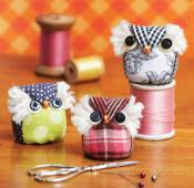 It's A Hoot Pincushion sewing pattern from Sewn Wyoming 2