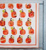 Patch Work (pumpkins) quilt sewing pattern from Sewn Wyoming 2