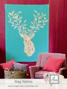 Stag Nation quilt sewing pattern from Sewn Wyoming